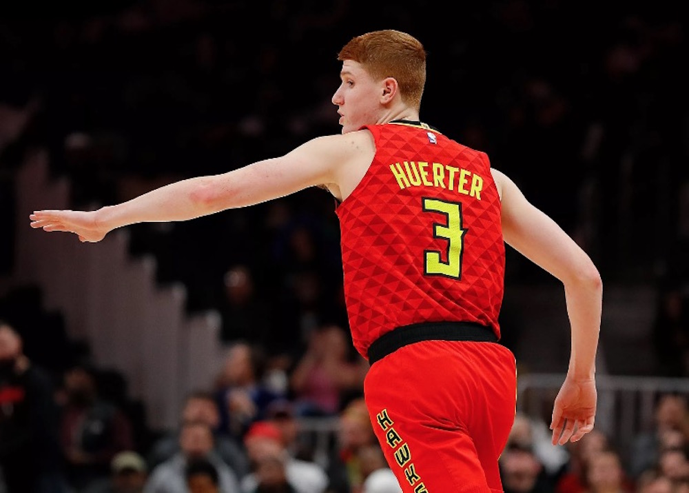 detailed look ef7aa c818d Kevin Huerter Named to All-Rookie Second Team - Priority ...