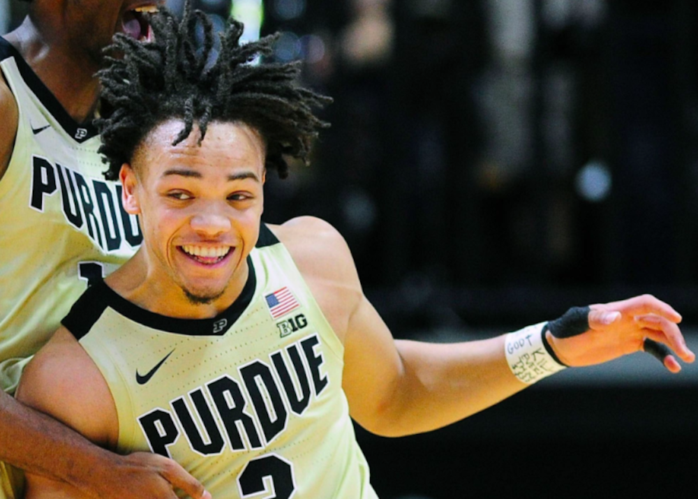 Nba Draft Carsen Edwards 33rd Overall Priority Sports Www
